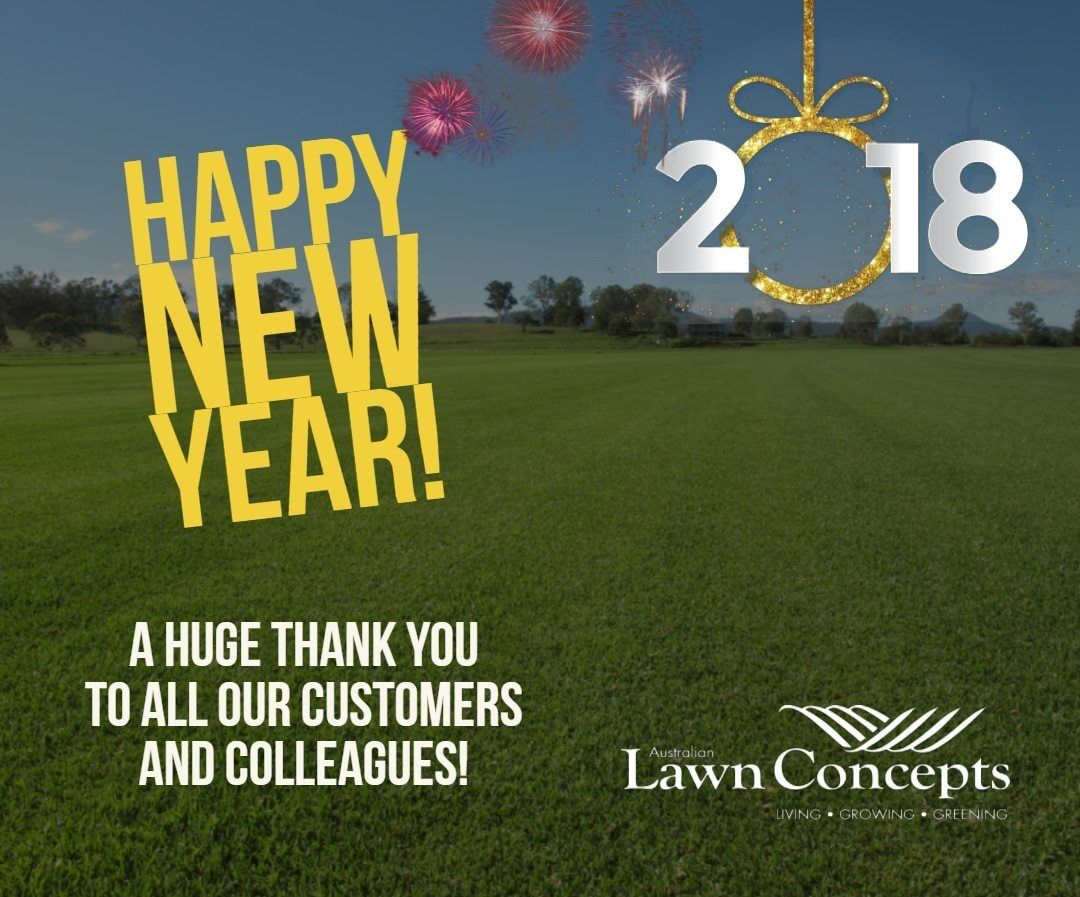 view larger image happy new year from australian lawn concepts